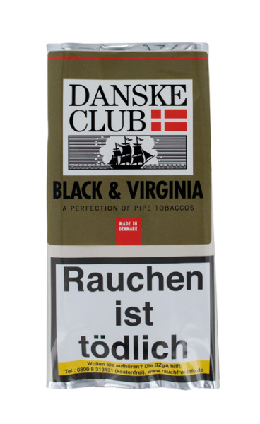 Danske Club Black & Virginia 50g