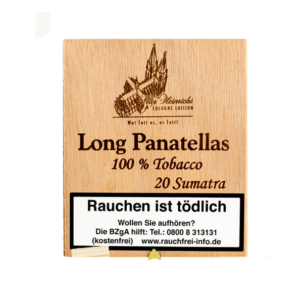 Peter Heinrichs Long Panatelas - Cologne Edition Sumatra