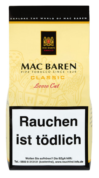Mac Baren Classic Loose Cut NP 125g