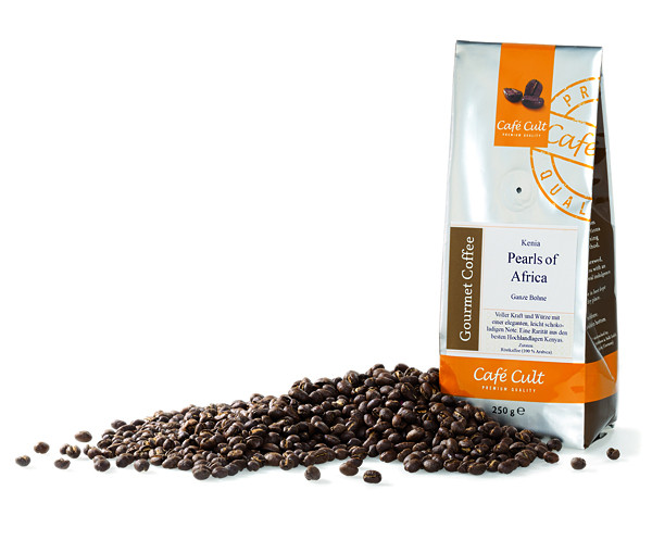 """Cafe Cult Kenia """"Pearls of Africa""""  250g"""